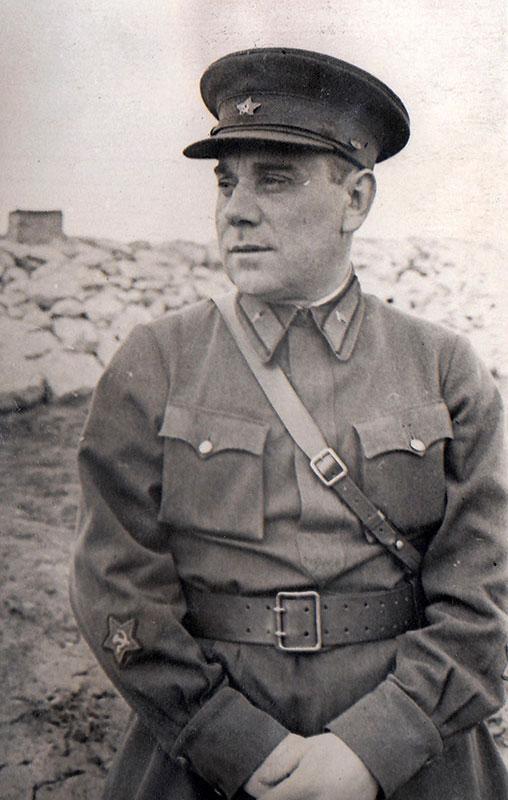 Генерал-майор Курочкін Костянтин Трохимович Фото 1939 року