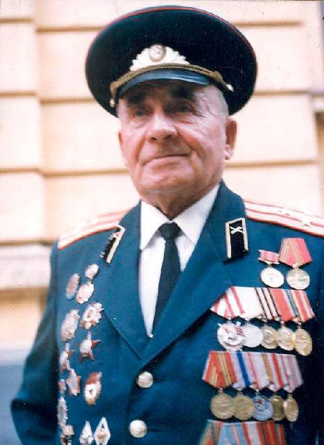 Полковник Грибов Микола Логвинович