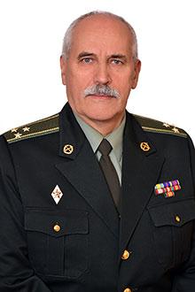 Хомік Іван Васильович, завідувач кафедри, полковник у відставці