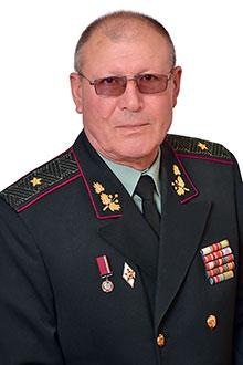 Шпанко Микола Анатолійович, доцент, кандидат історичних наук, генерал-майор у відставці